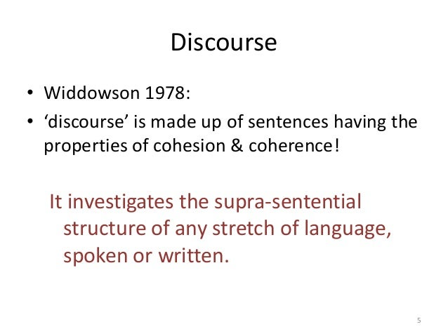 the critical elements of discourse analysis Looking at discourse and conversational analysis english  critical discourse analysis is a  researchers found that while these analyses had common elements,.