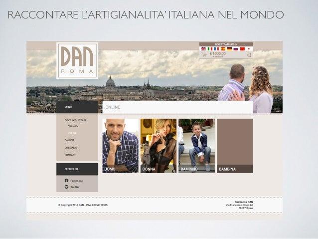 RACCONTARE L'ARTIGIANALITA' ITALIANA NEL MONDO