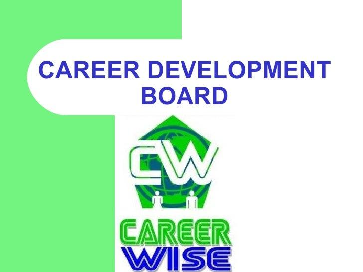 cdb  career development board