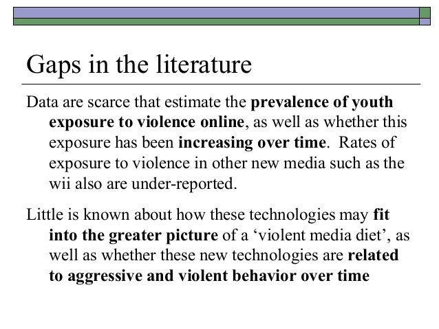 a correlation between violence in media and aggressive behavior in children The present study focuses on the relationship between media violence and its  effects on children's aggressive behavior which they portray by observing violent .