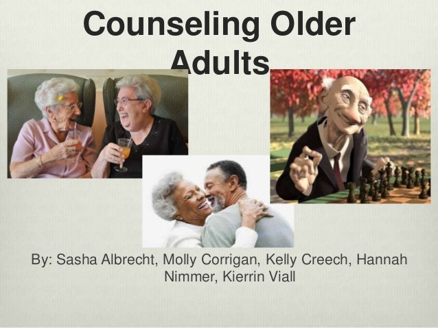 Think, that Counseling older adults And
