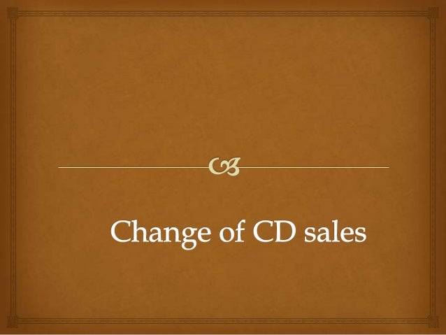   CD sales have dropped massively over the past 5 years.  the top 10 albums accounted for 56.4 million unit sales in 20...