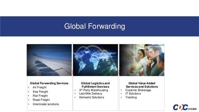 Deere and company worldwide logistics