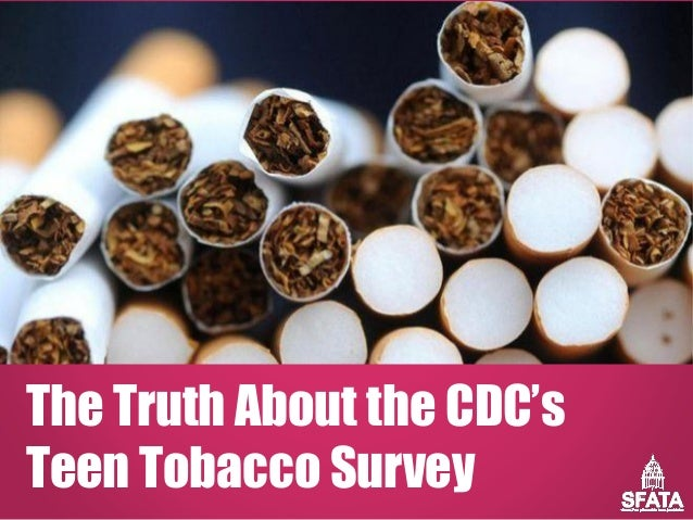 The Truth About the CDC's Teen Tobacco Survey
