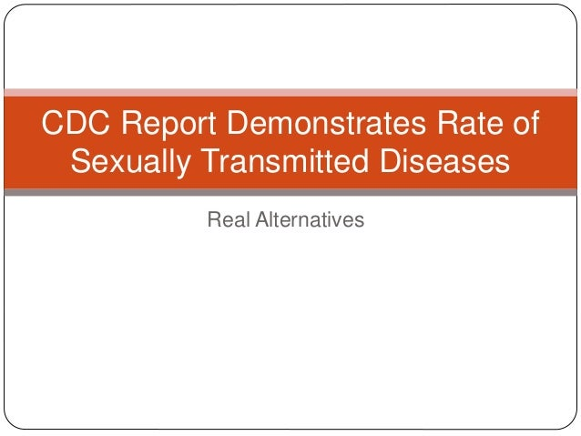Cdc report sexually transmitted diseases