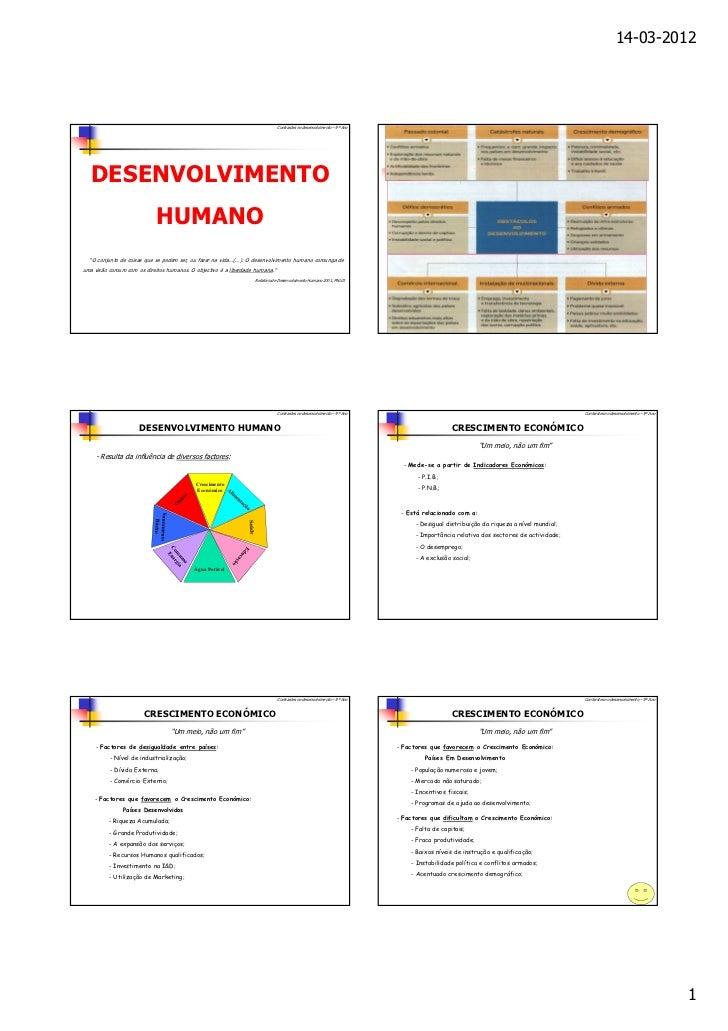 14-03-2012                                                                              Contrastes no desenvolvimento – 9º...