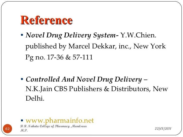 pdf on drug delivery system