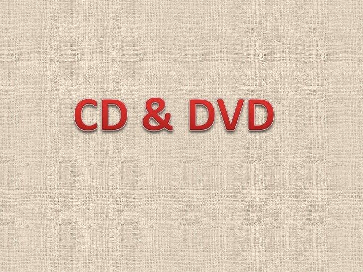 CD & DVD<br />