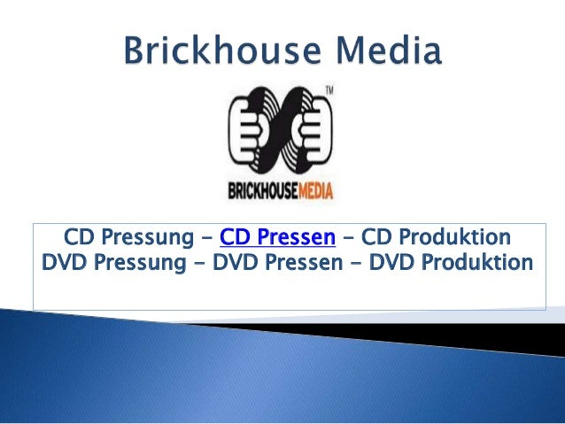 CD Pressung - CD Pressen - CD Produktion  DVD Pressung - DVD Pressen - DVD Produktion