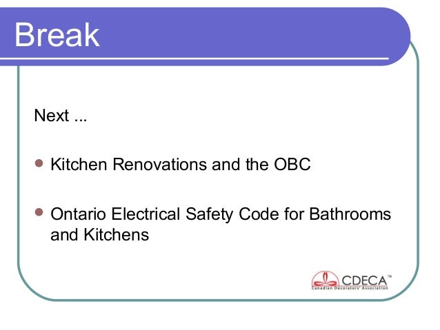 CDECA Toronto Chapter Presentation Feb 5, 2013