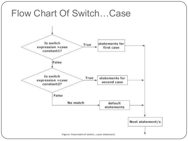 C decision making and looping flow chart of switchcase 35 ccuart Gallery