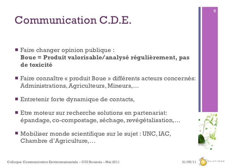 Cde com verte cdev3 environnement 2007 8 communication cde sciox Images