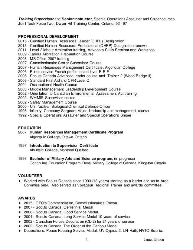 Health force ontario resume help