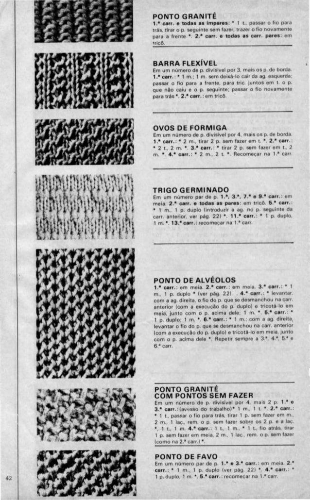 Casacos | Pontos de Tricô | Página: 2