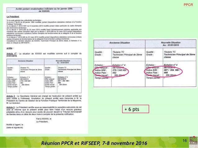 Cdg 53 diaporama de presentation ppcr rifseep version pdf 1 - Redacteur grille indiciaire ...