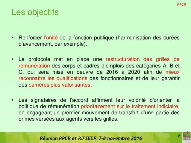 Cdg 53 diaporama de presentation ppcr rifseep version - Grille indiciaire assistant socio educatif fonction publique territoriale ...