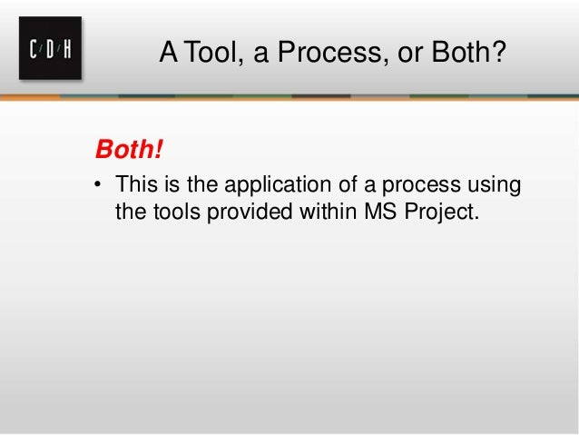 C/D/H: Excel to Project in 5 Easy Steps