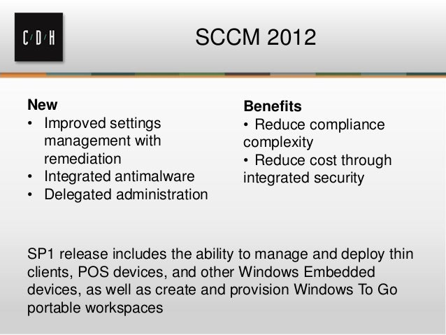 System Center Configuration Manager The Most Popular