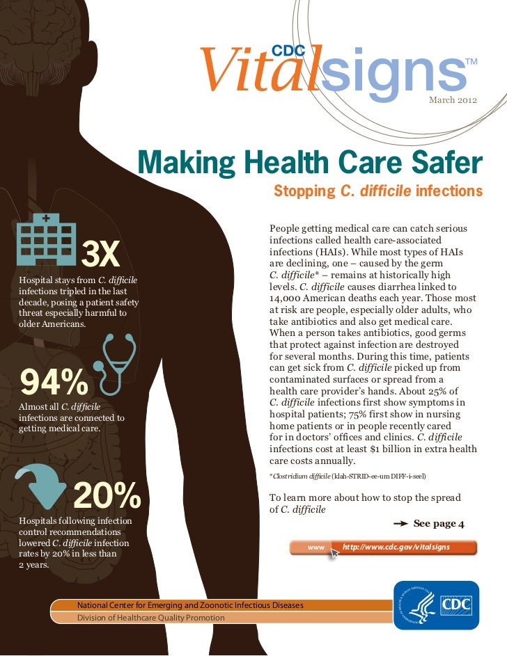 March 2012                                 Making Health Care Safer                                                       ...
