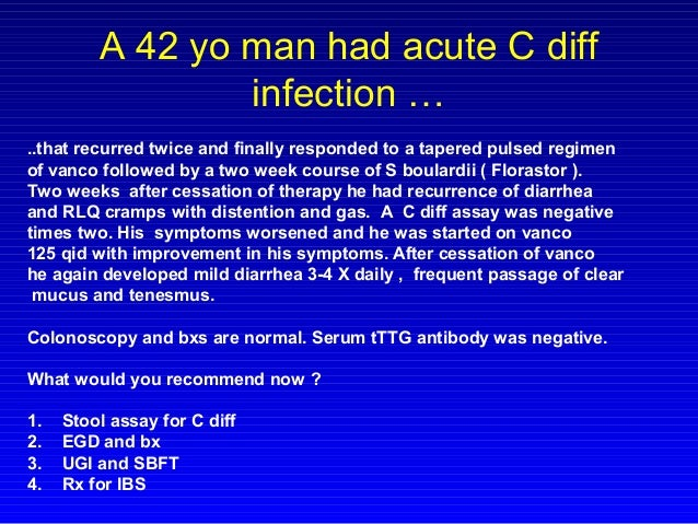 Clostridium Difficile C Diff Is More Difficult Than Ever