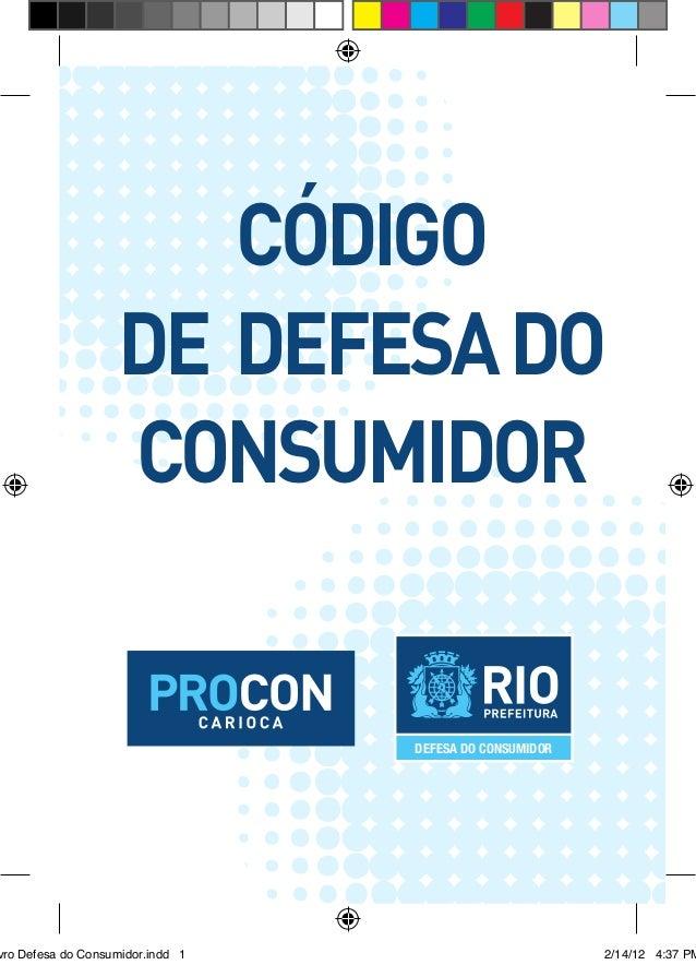 Código                   de Defesa do                   Consumidor                                  DEFESA DO CONSUMIDORvr...