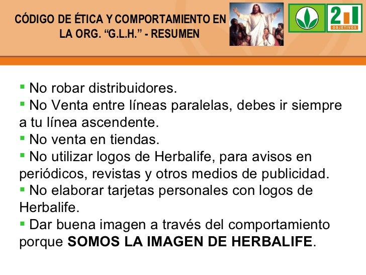 Código De ética Herbalife