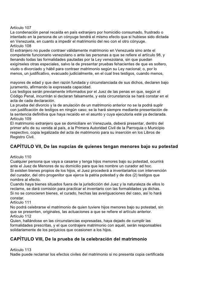 Requisitos para contraer matrimonio civil en venezuela - Requisitos para casarse ...