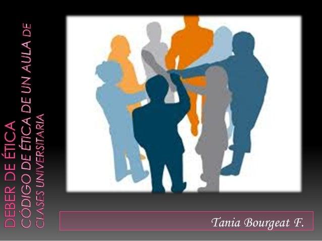 Tania Bourgeat F.