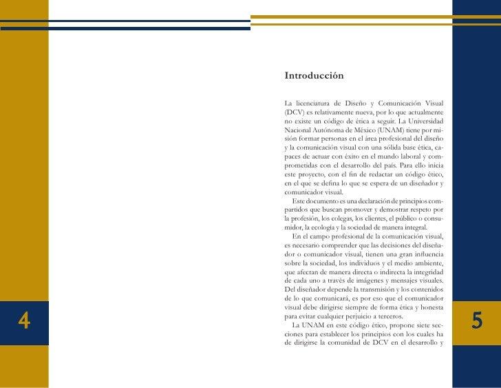 código de ética de diseÑo y comunicaciÓn visual