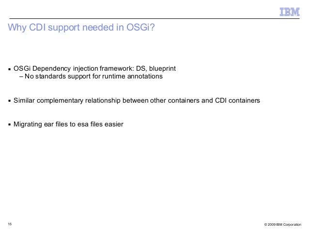 Cdi integration in osgi emily jiang 14 15 malvernweather Choice Image