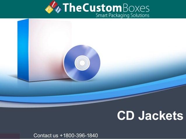 Contact us +1800-396-1840 CD Jackets
