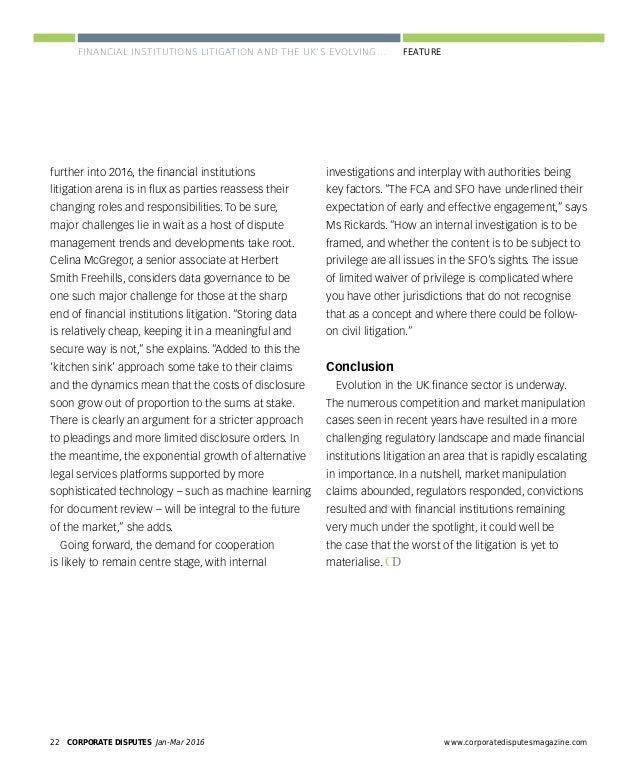 www.corporatedisputesmagazine.com CORPORATE DISPUTES Jan-Mar 2016 25 EXPERT FORUM PANEL EXPERTS ARBITRATION IN THE AMERICA...