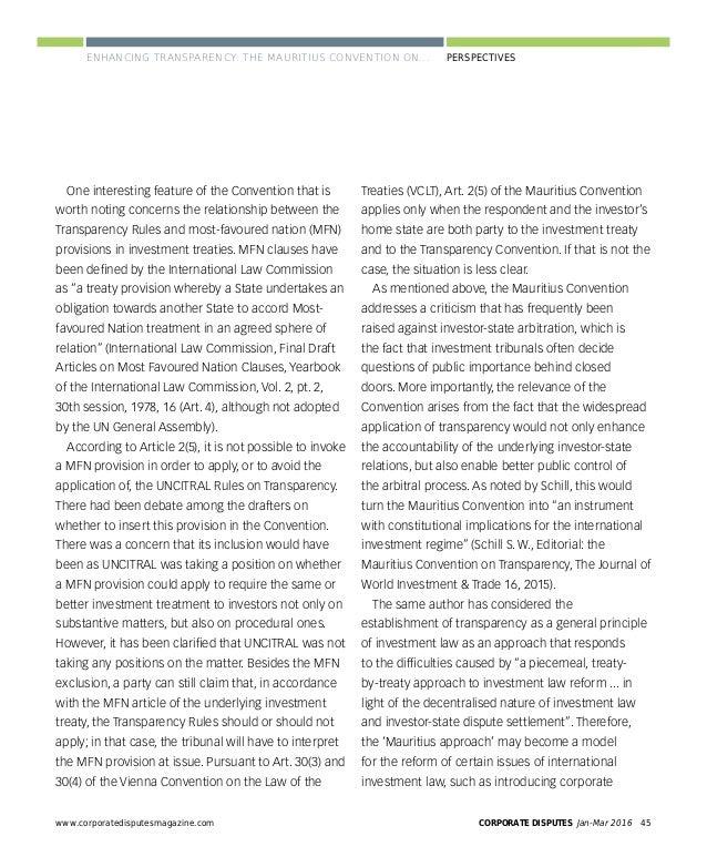 CORPORATE DISPUTES Jan-Mar 201648 www.corporatedisputesmagazine.com PERSPECTIVES Tensions between international and domest...