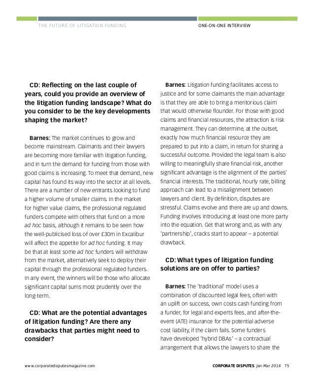 Corporate Disputes newsletter