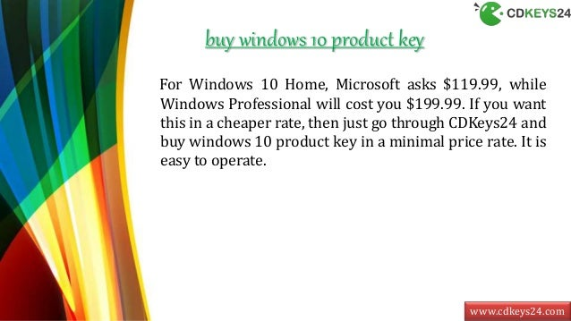 can i buy a windows 10 product key online
