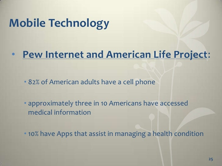 Health and Medical Apps  •   Apps      • Sophisticated programs or special applications        designed for mobile technol...