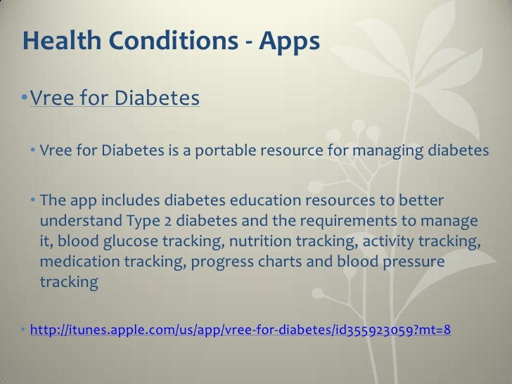 Nutrition/Weight Management - Apps •Calorie Counter  • Tracks food, exercise, weight and all the nutrients    listed on a ...