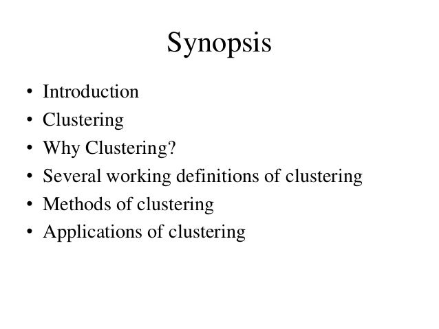 Clustering in Data Mining Slide 2