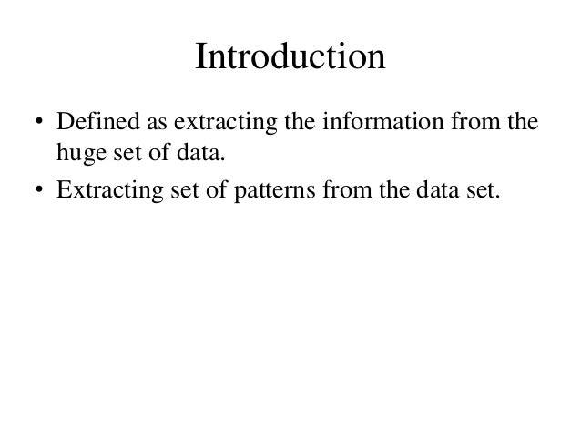 Clustering in Data Mining Slide 3