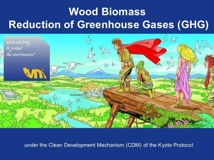Wood Biomass  Reduction of Greenhouse Gases (GHG) under the Clean Development Mechanism (CDM)   of the Kyoto Protocol