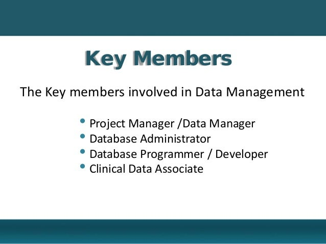 clinical trial overview - Clinical Database Programmer