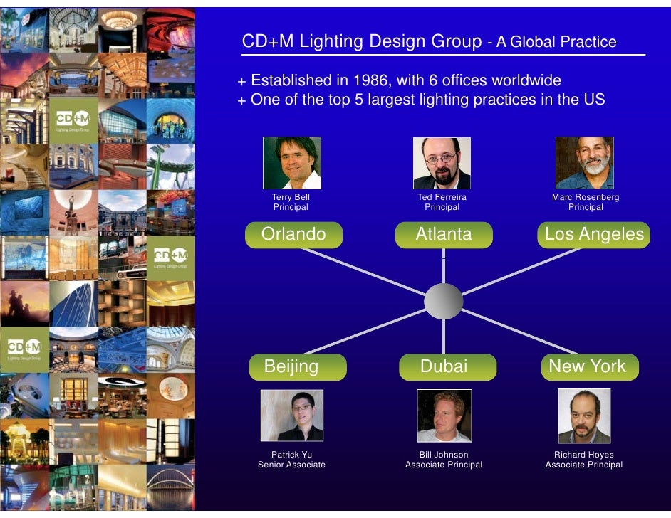 CD+M Lighting Design Group ...