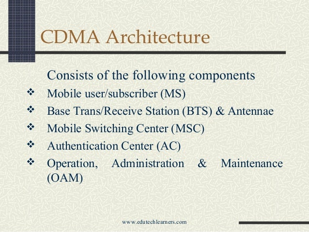 Code Division Multiple Access  Cdma