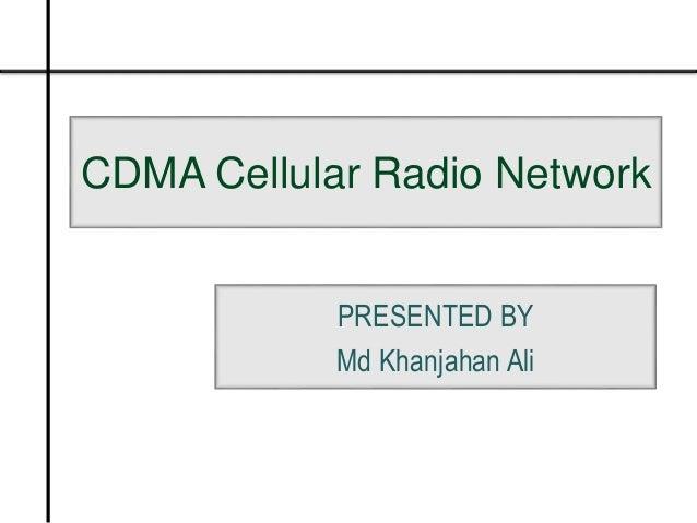 CDMA CELLULAR RADIO NETWORKS PDF