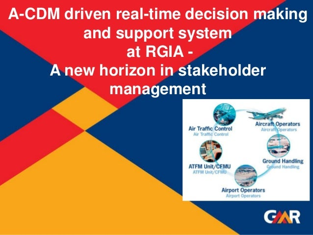 1 Succession Planning - CONSTRUCTION 1 A-CDM driven real-time decision making and support system at RGIA - A new horizon i...