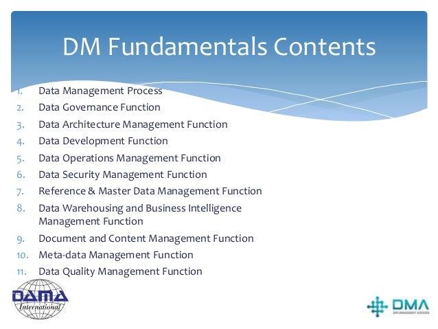 Data Management Process
