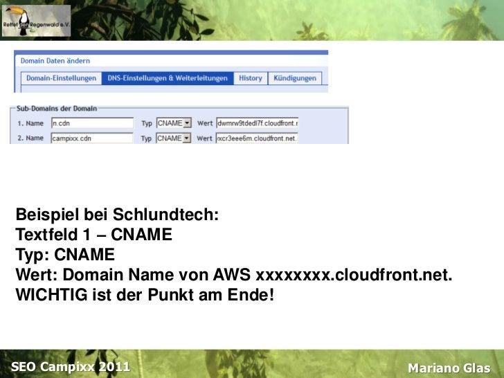 Dateigröße bis 1,9 GB pro Datei<br />Größere Dateien via AWS-Konsole nur über Java-Applet<br />Mariano Glas<br />SEOCampix...
