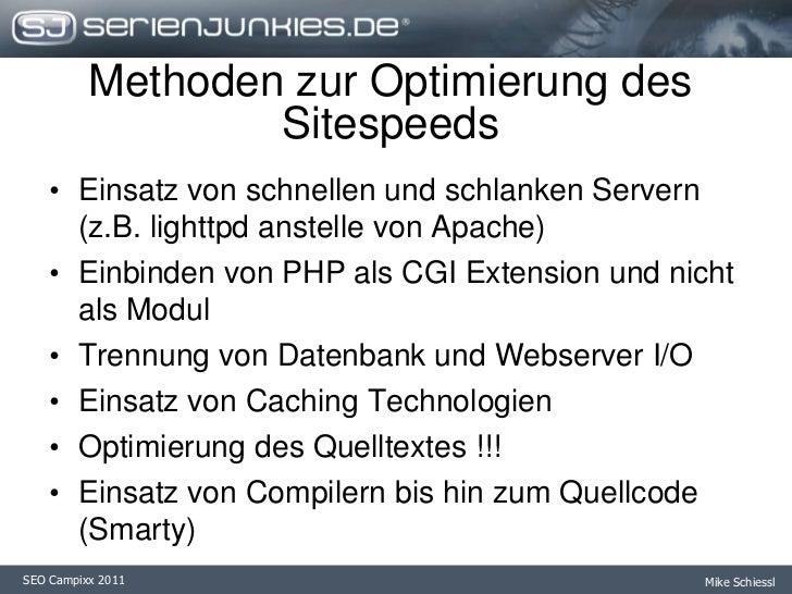Falsch konfigurierte Webserver / Interpreter</li></ul>highloadissues<br /><ul><li>Viele zeitgleiche Lesezugriffe auf die F...