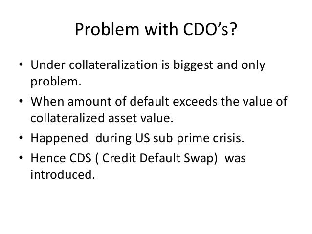 Cdo Cds And American Crisis
