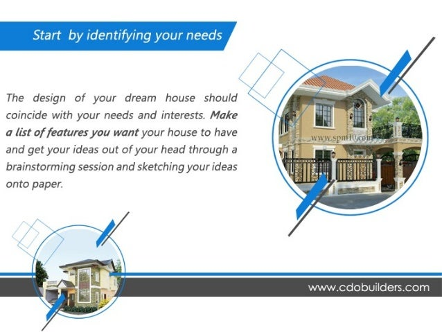 We help you build your dream house for Build your dream house